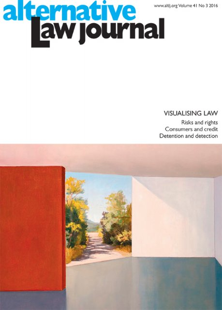 AltLJ 41(3) - Visualising Law